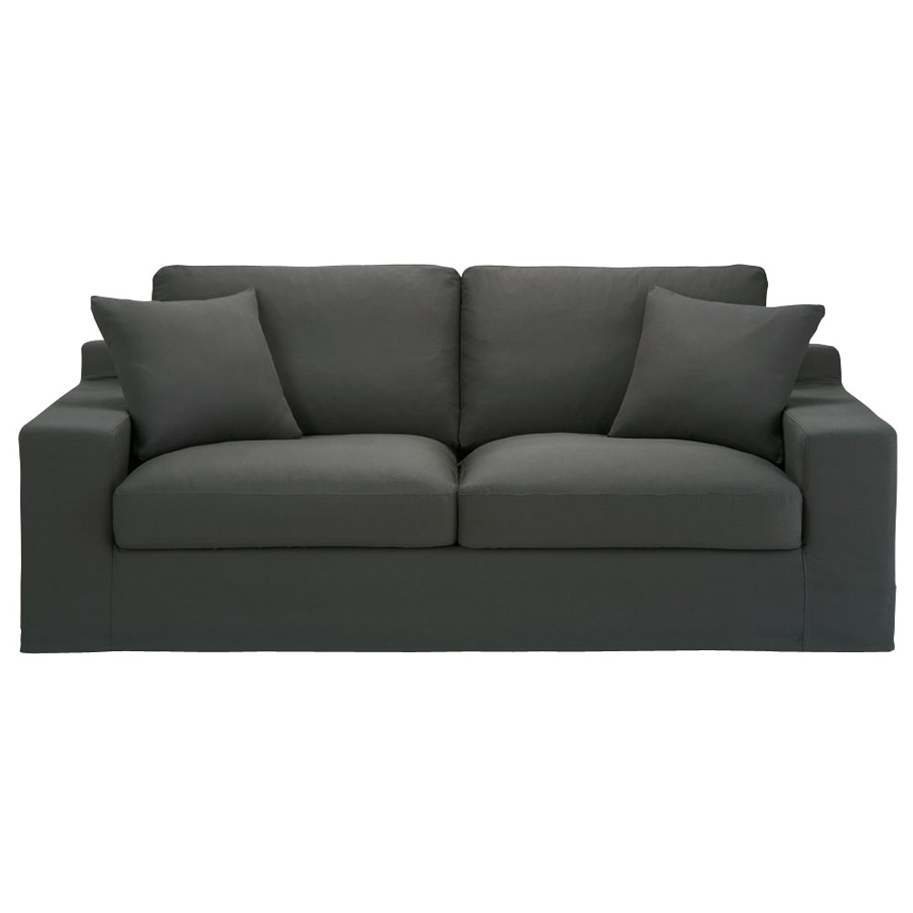 Canap gris royal sofa id e de canap et meuble maison for Canape poltrone et sofa