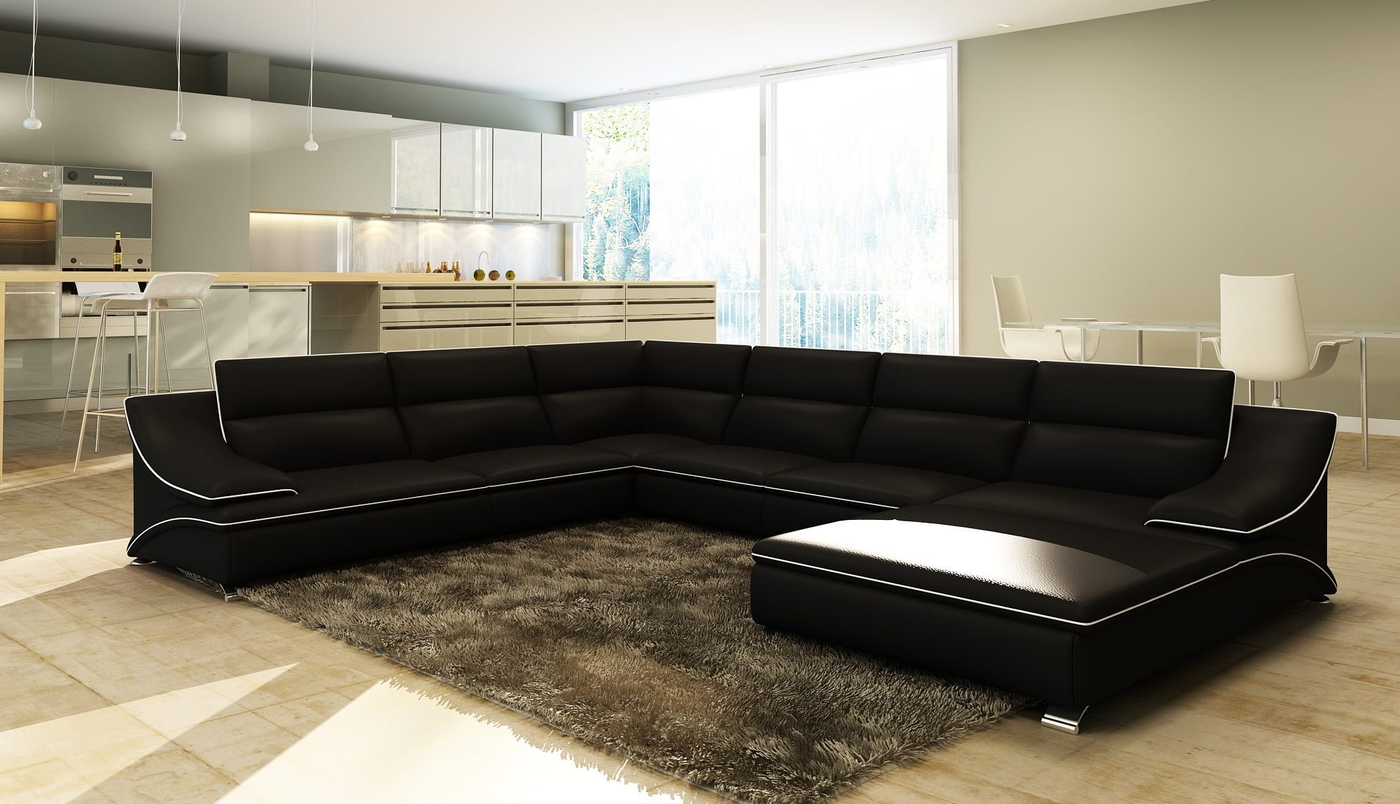 canape d angle 8 10 places royal sofa id e de canap et meuble maison. Black Bedroom Furniture Sets. Home Design Ideas