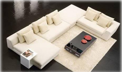 canap panoramique tissu royal sofa id e de canap et meuble maison. Black Bedroom Furniture Sets. Home Design Ideas