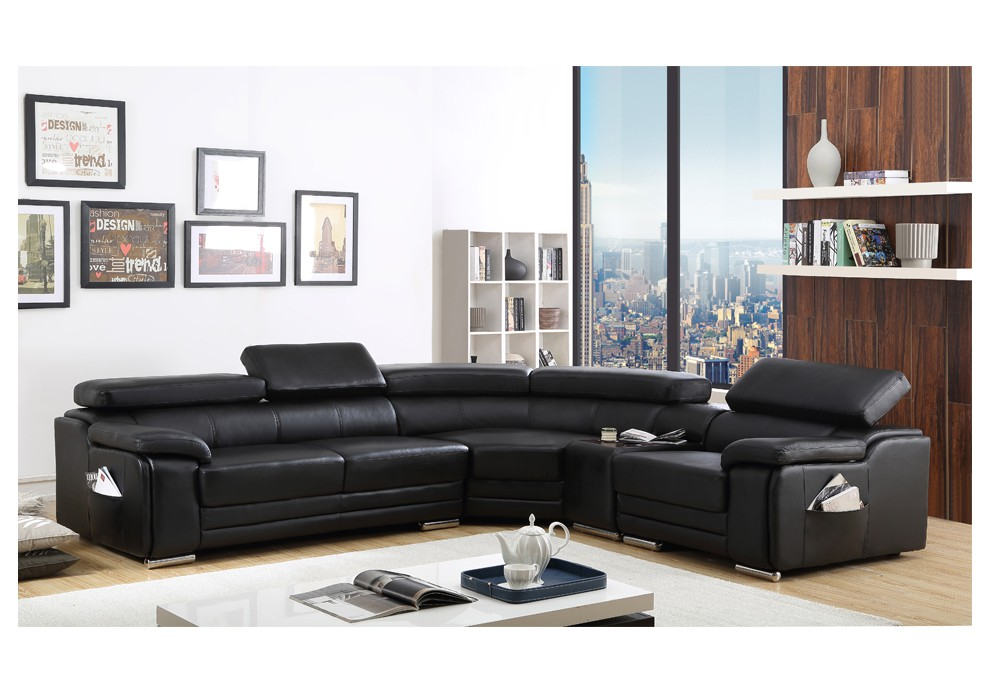 canape d angle cuir 6 places royal sofa id e de canap. Black Bedroom Furniture Sets. Home Design Ideas