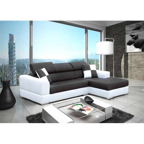 canap d angle blanc et noir royal sofa id e de canap et meuble maison. Black Bedroom Furniture Sets. Home Design Ideas