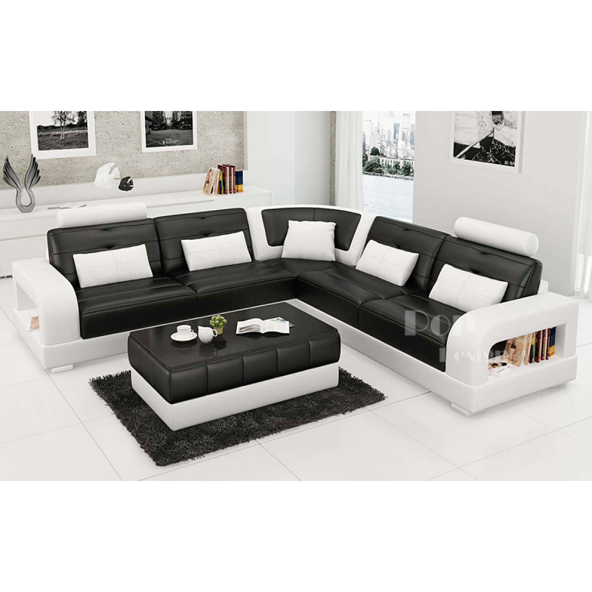 Canap d angle promotion royal sofa - Canape cuir luxe design ...