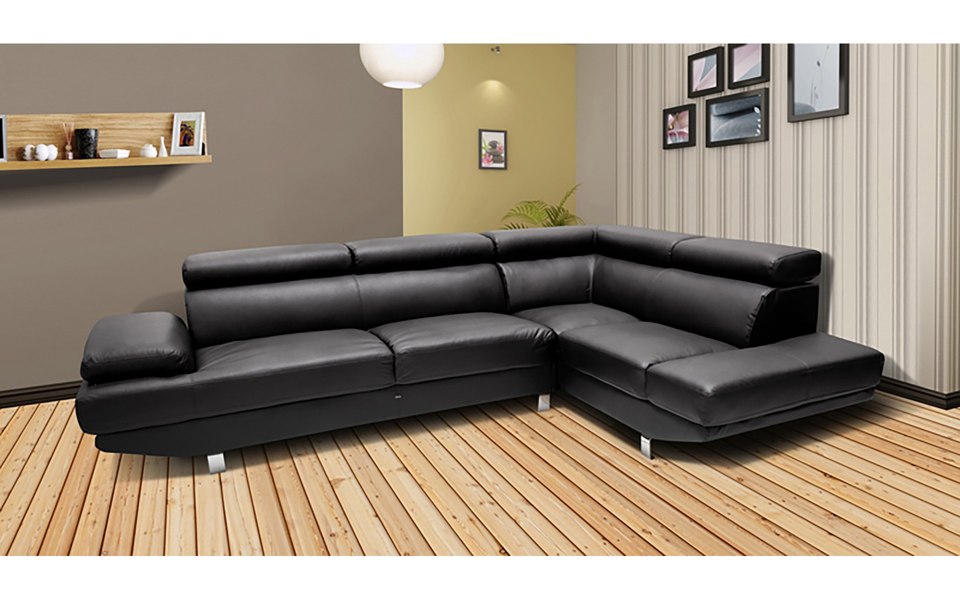 Canap d angle carr royal sofa id e de canap et for Monsieur meuble canape d angle cuir