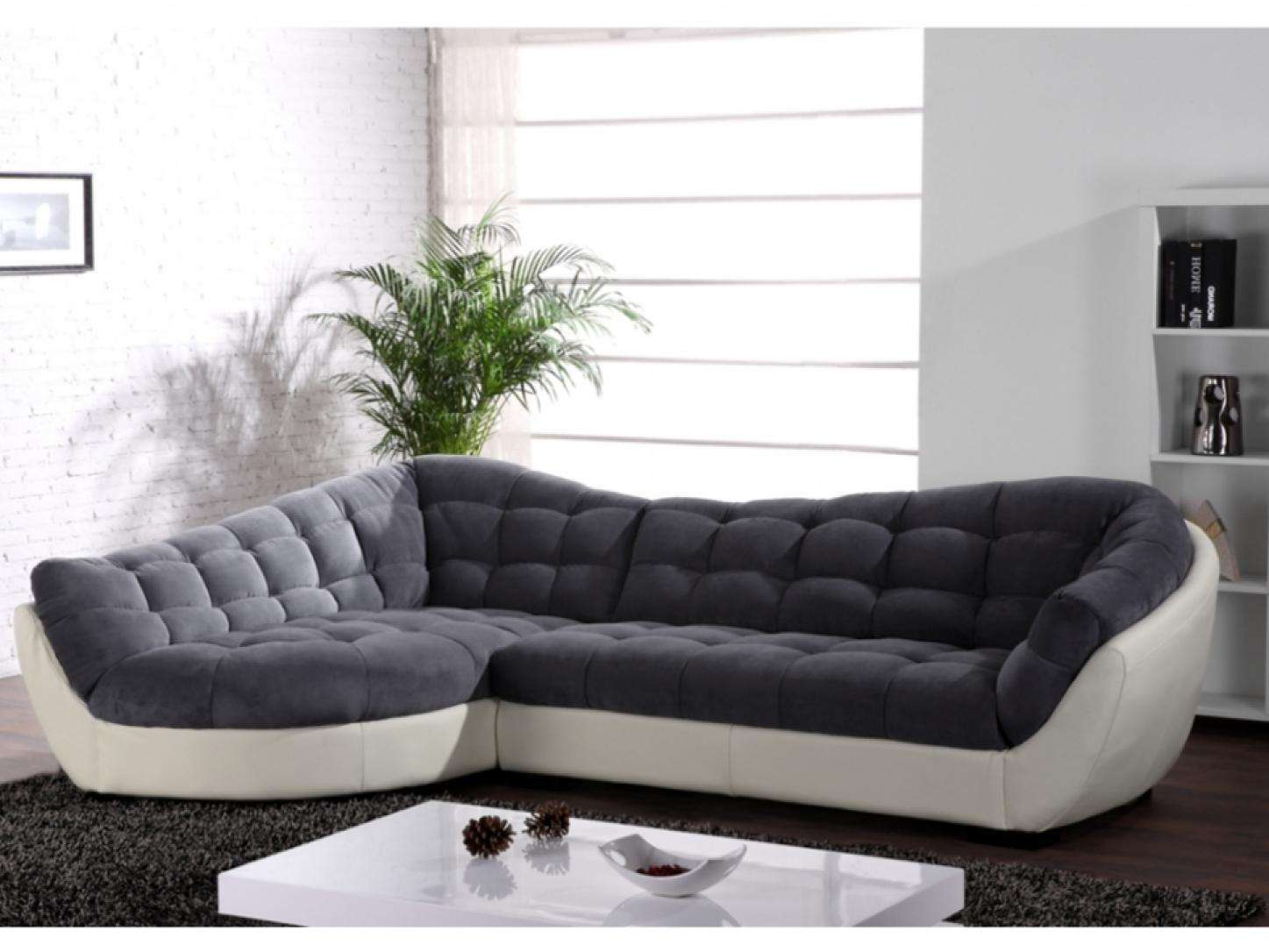 Canap arrondi convertible royal sofa - Canape d angle de qualite ...