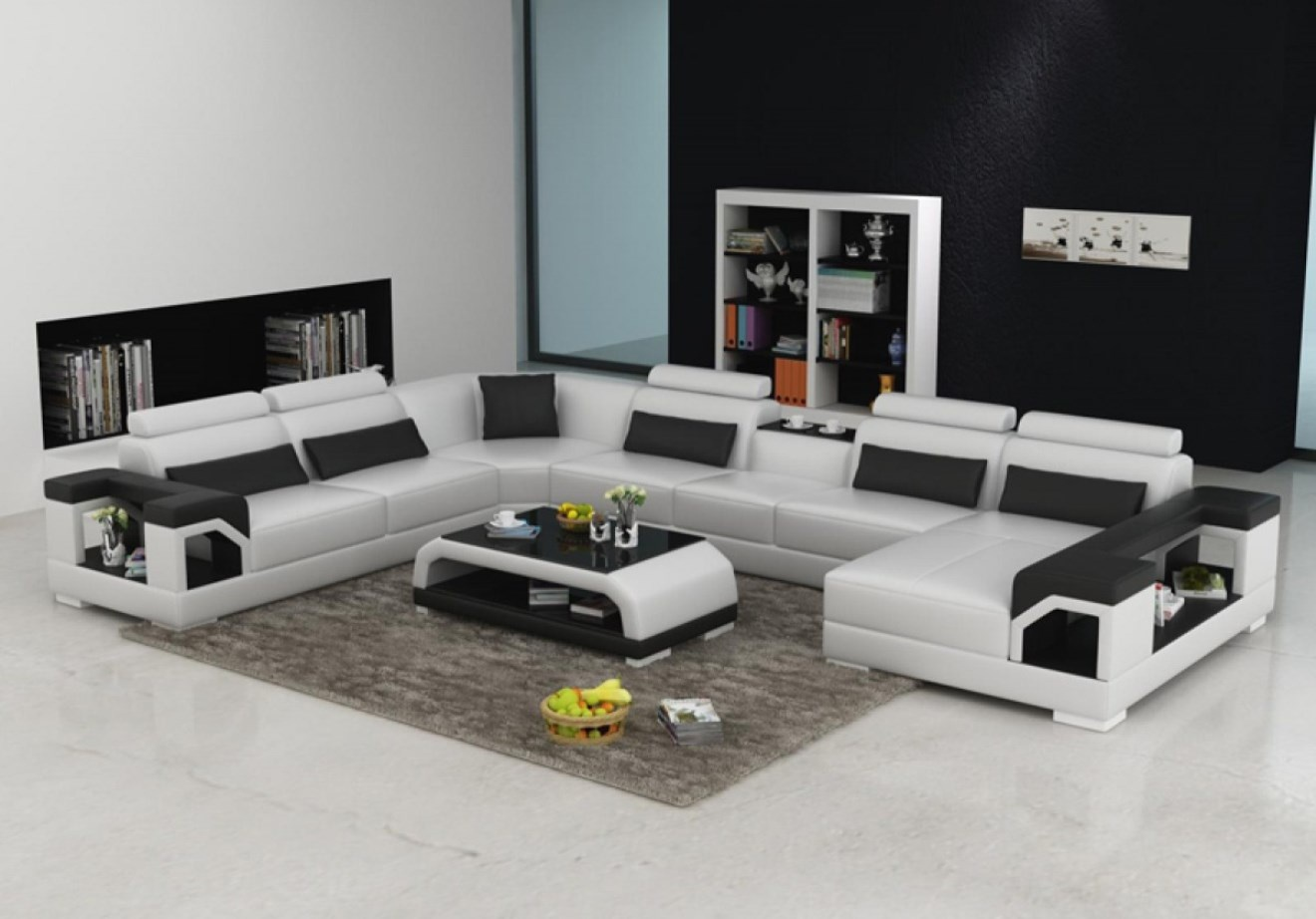 canap d angle 7 places royal sofa id e de canap et meuble maison. Black Bedroom Furniture Sets. Home Design Ideas