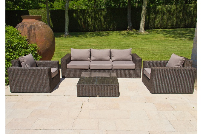 salon jardin en solde - royal sofa