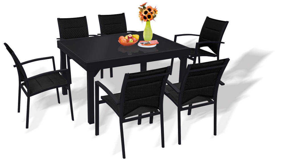 Royal sofa for Table exterieure carree 8 personnes