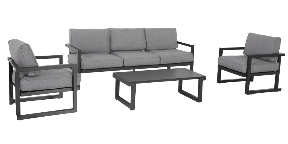 salon de jardin bas aluminium royal sofa id e de. Black Bedroom Furniture Sets. Home Design Ideas