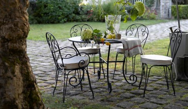 Awesome Salon De Jardin Metal Bistro Pictures - Amazing House ...