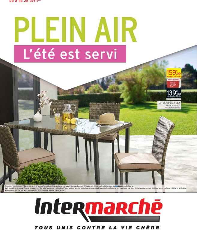 Emejing Petit Salon De Jardin Intermarche Pictures - Amazing House ...