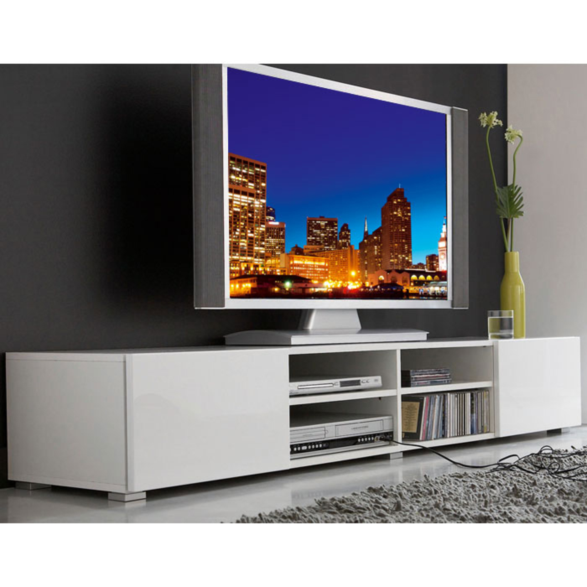 Meuble tv 4 niches royal sofa id e de canap et meuble for Meuble tv 4 metres