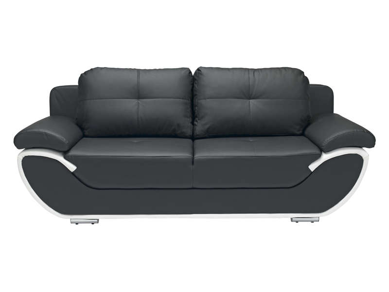 Canapé 3 places convertible simili cuir Royal Sofa idée de