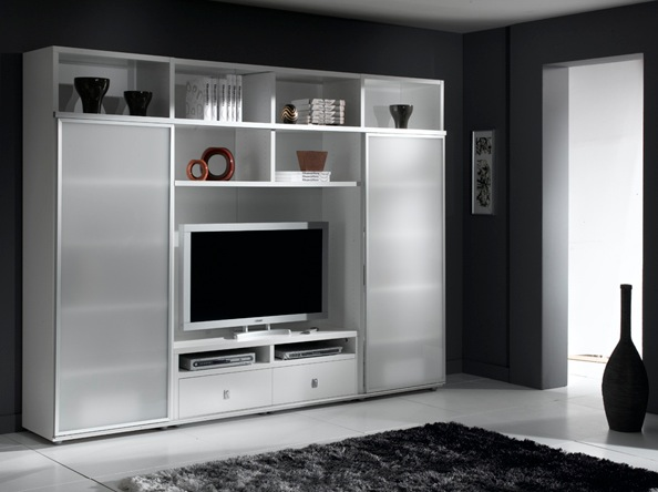 armoire television salon royal sofa id e de canap et meuble maison. Black Bedroom Furniture Sets. Home Design Ideas