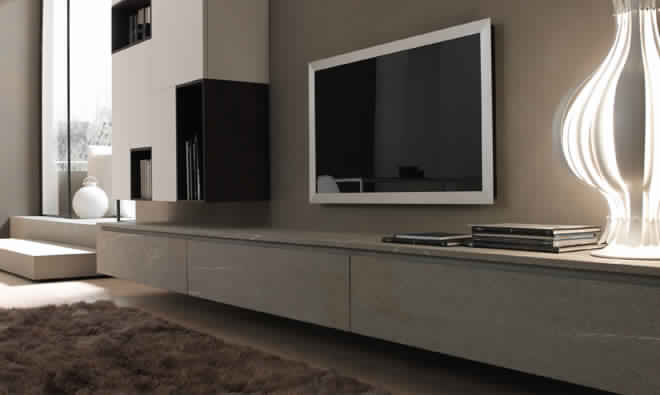 Quelle hauteur meuble tv suspendu royal sofa id e de for Meuble tv angle suspendu
