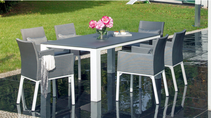 Beautiful table de salon de jardin design pictures amazing house