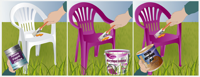 Repeindre un salon de jardin en plastique royal sofa for Comment repeindre un salon de jardin en plastique