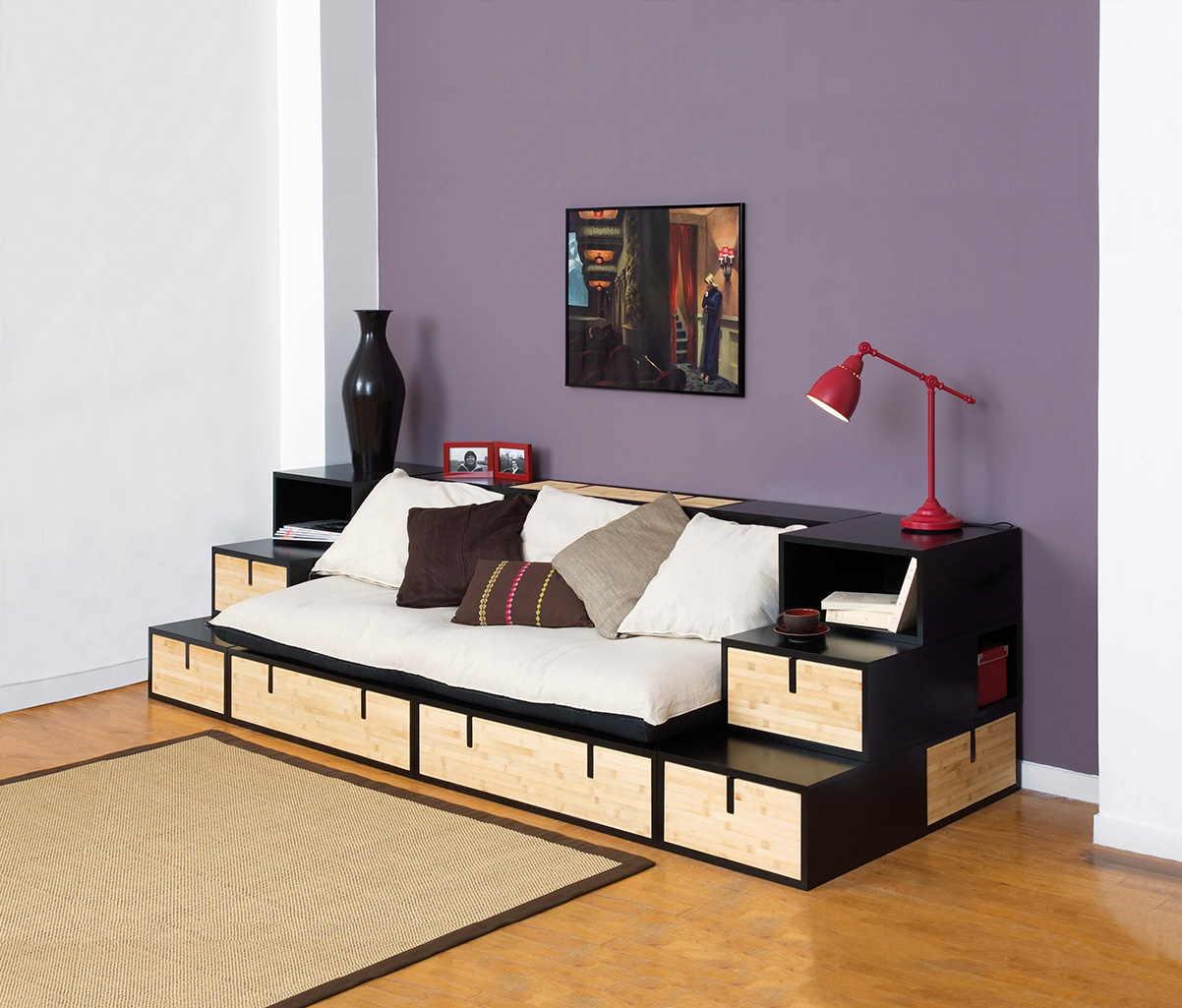 canap lit rangement royal sofa id e de canap et meuble maison. Black Bedroom Furniture Sets. Home Design Ideas