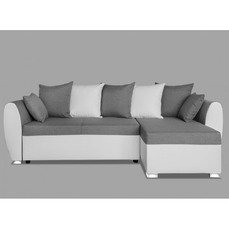 canap convertible blanc et gris royal sofa id e de. Black Bedroom Furniture Sets. Home Design Ideas