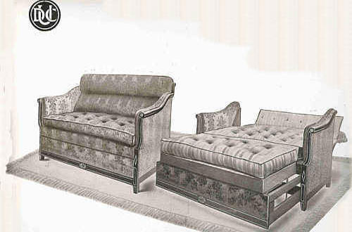 Un canap convertible en anglais royal sofa id e de for Meuble anglais traduction