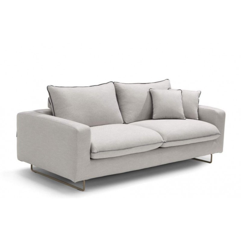 Canape convertible beige clair royal sofa id e de for Divans convertibles