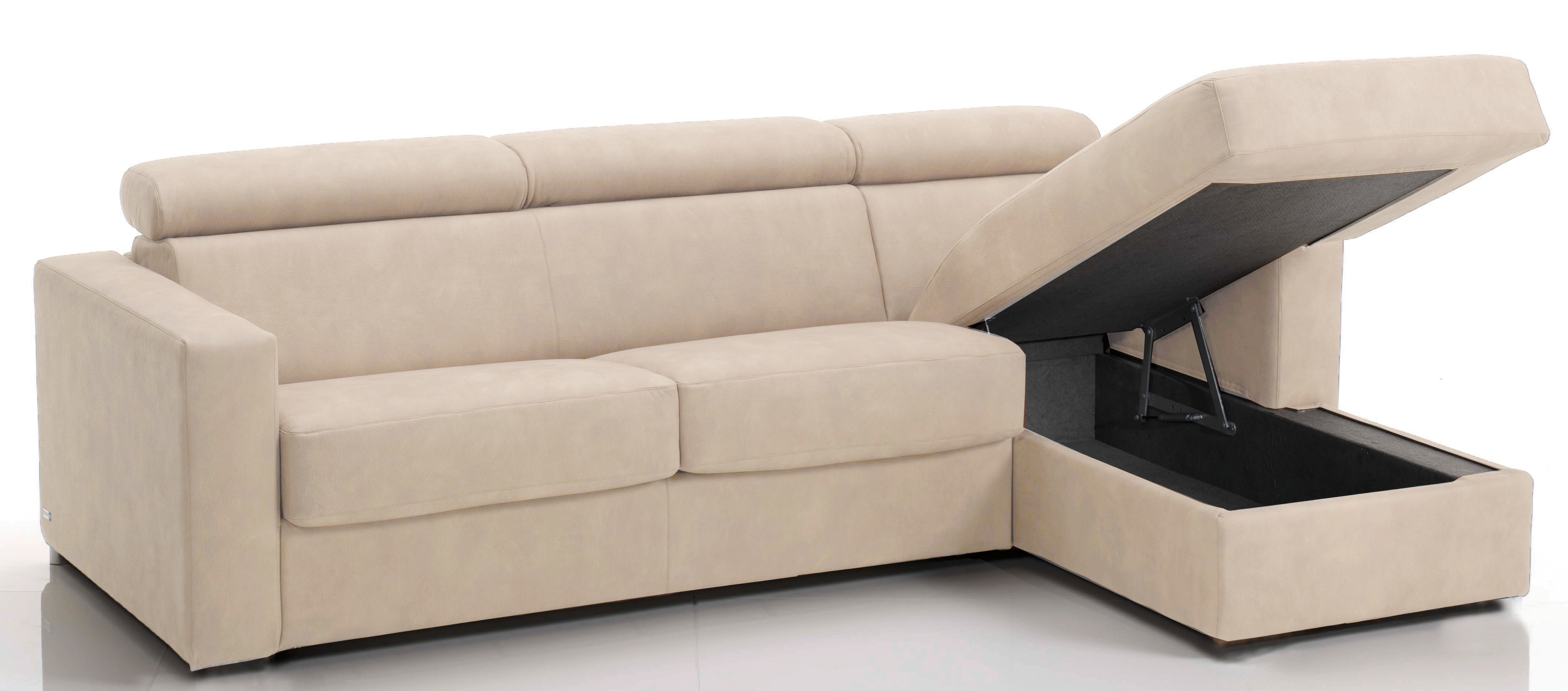 Canap convertible beige royal sofa id e de canap et for Canape convertible 2 metres