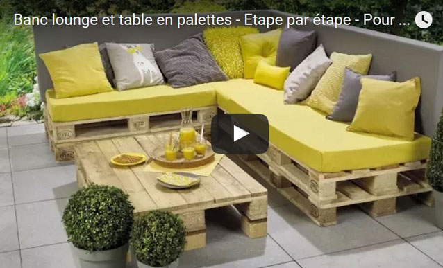 Salon de jardin palette tuto royal sofa id e de canap for Salon jardin palette