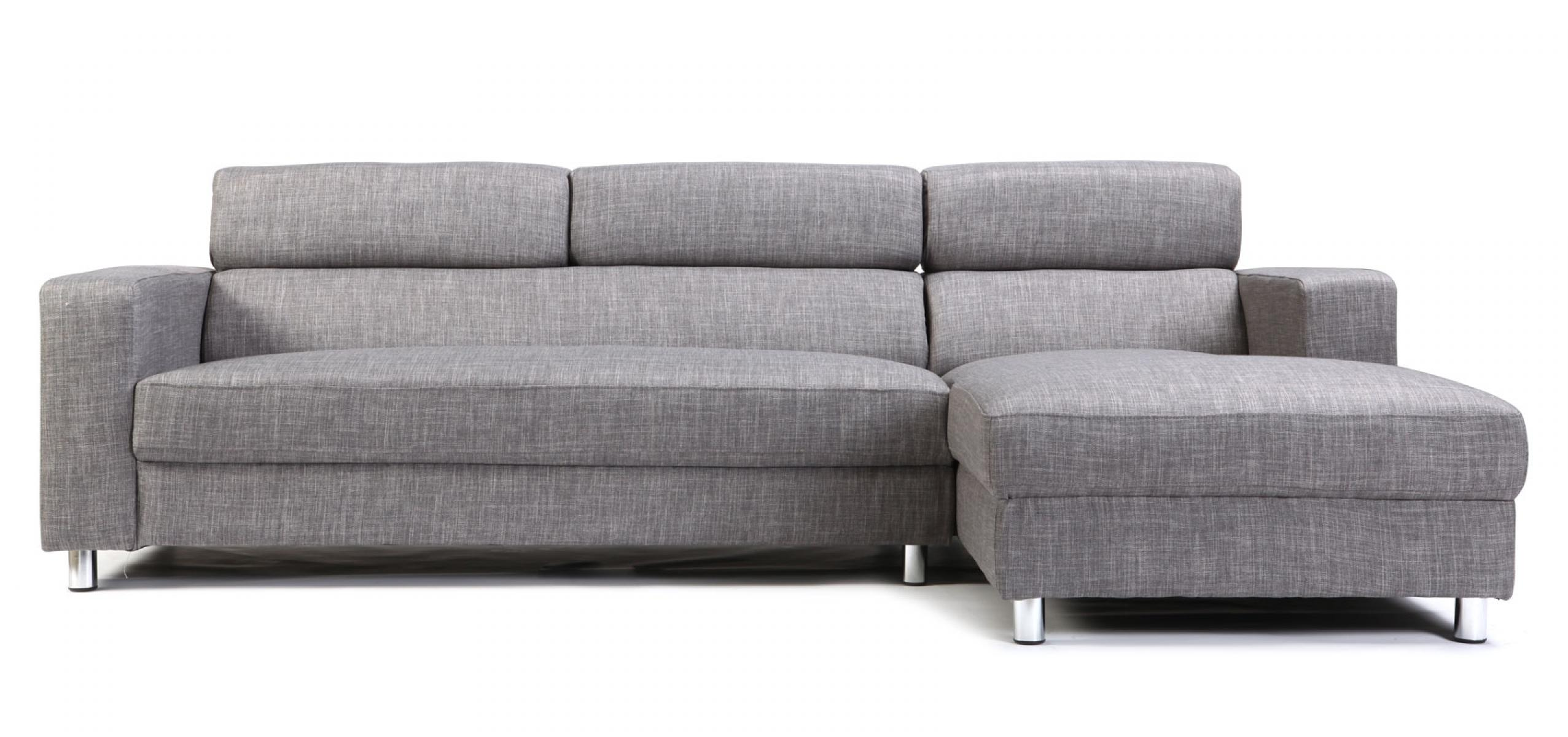 Canap convertible gris royal sofa id e de canap et for Canape cuir convertible gris