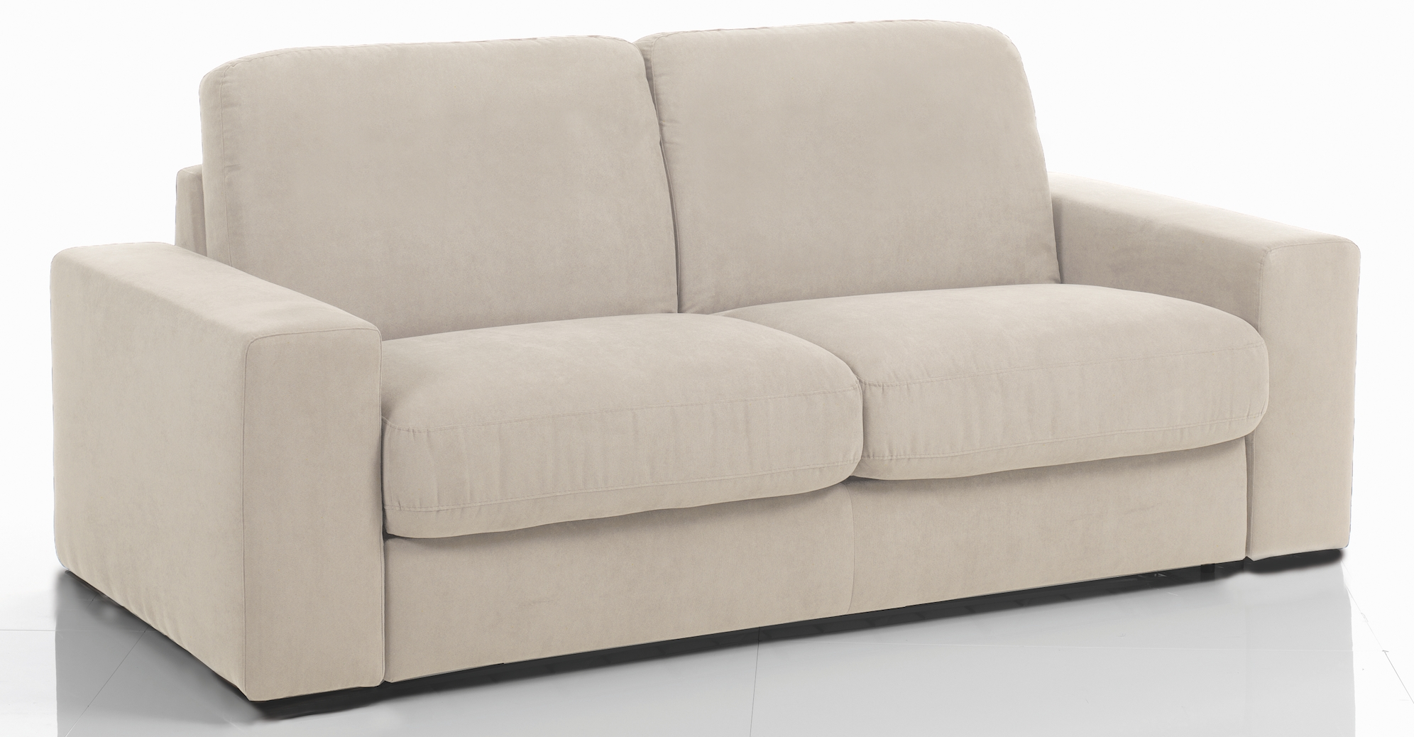 Canap lit beige royal sofa id e de canap et meuble for Site de canape