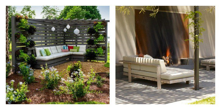 Emejing idee salon de jardin original contemporary design trends