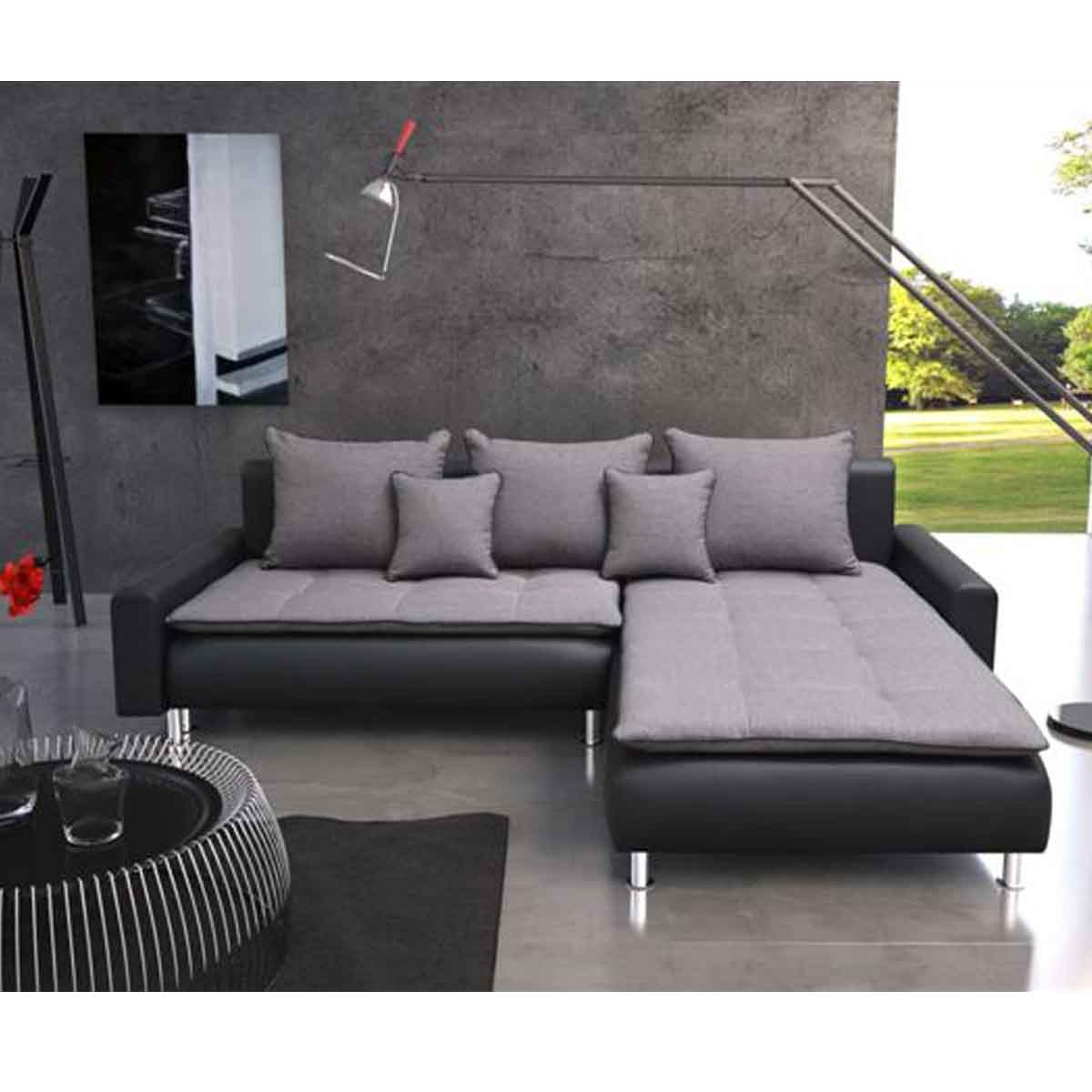 Canap convertible angle royal sofa id e de canap et for Meuble de canape
