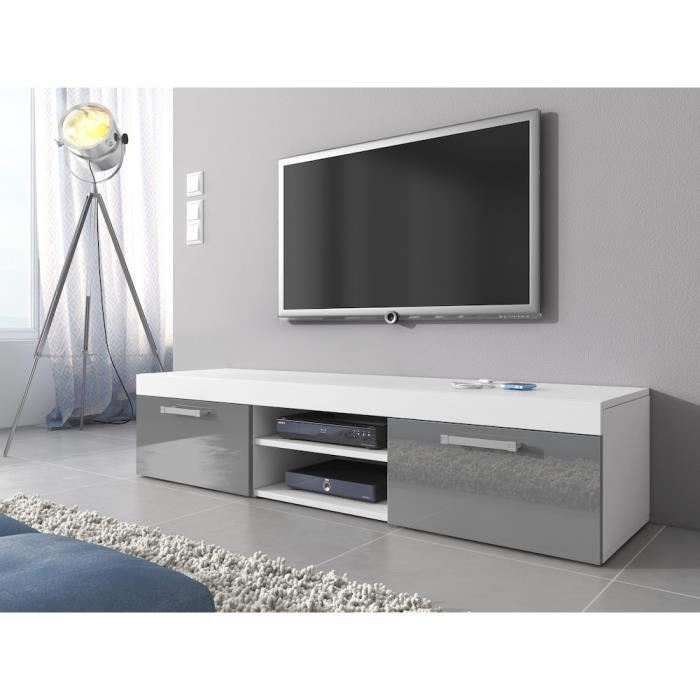 meuble tele gris royal sofa id e de canap et meuble maison. Black Bedroom Furniture Sets. Home Design Ideas
