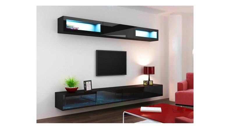 Etagere sous tv royal sofa id e de canap et meuble maison for Salon en bois moderne
