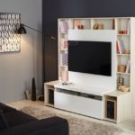 Meuble tv 80 cm conforama