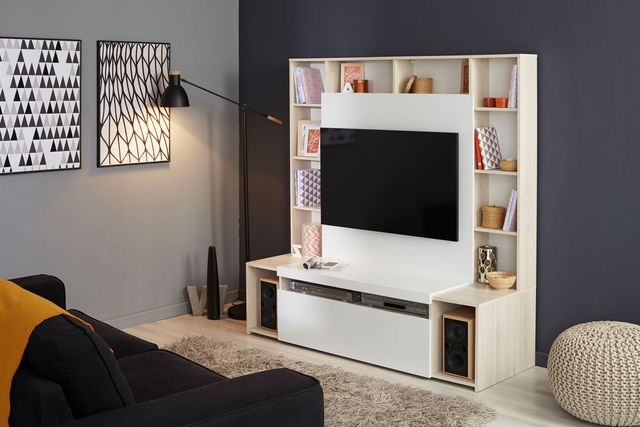 meuble tv 80 cm conforama royal sofa id e de canap et meuble maison. Black Bedroom Furniture Sets. Home Design Ideas