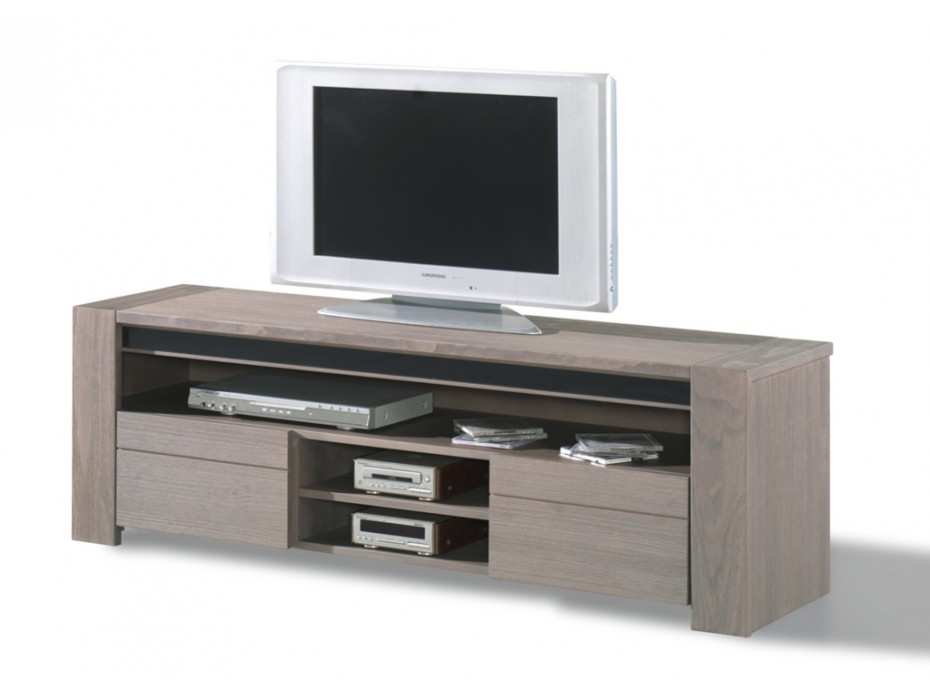 Meuble tv taupe royal sofa id e de canap et meuble maison for Meuble tv yvan