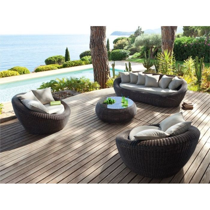 awesome salon de jardin en rotin solde contemporary awesome interior home satellite. Black Bedroom Furniture Sets. Home Design Ideas