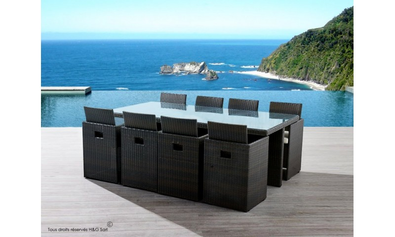 salon de jardin 8 places pas cher royal sofa id e de canap et meuble maison. Black Bedroom Furniture Sets. Home Design Ideas
