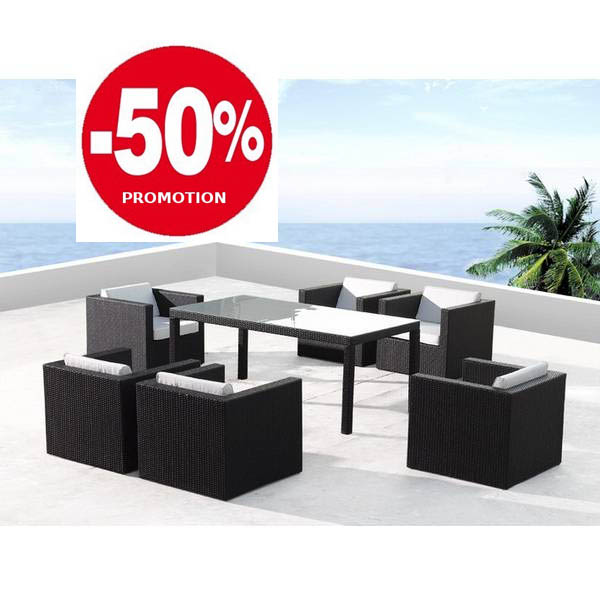 Salon jardin solde royal sofa id e de canap et meuble for Salon de jardin en resine tressee solde
