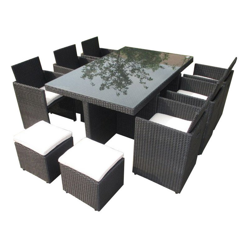 Table exterieur tresse royal sofa id e de canap et for Table exterieur tresse