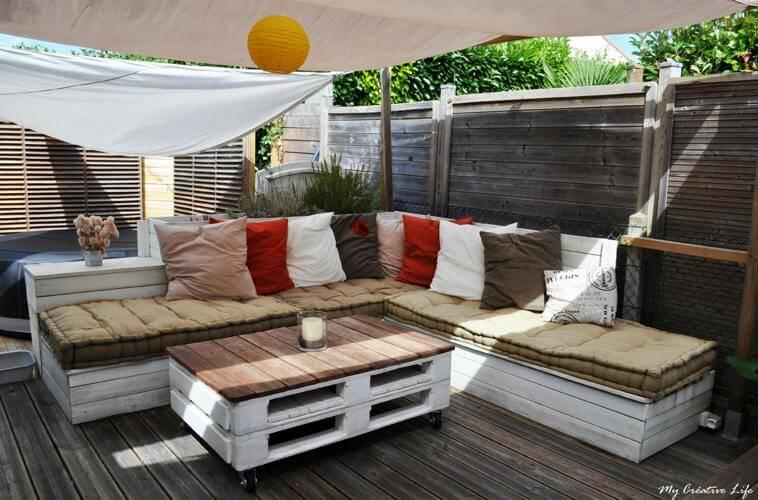 Beautiful Salon De Jardin En Bois Original Contemporary - Amazing ...