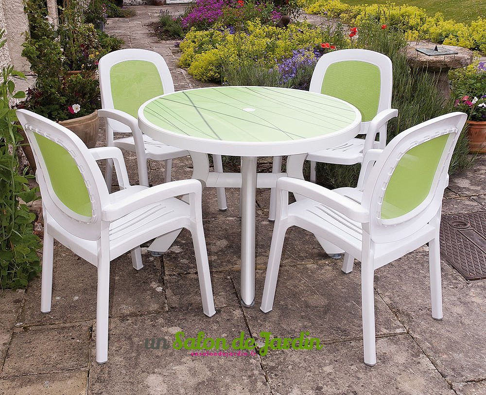 awesome table de jardin plastique d occasion contemporary - Repeindre Une Table De Jardin En Plastique