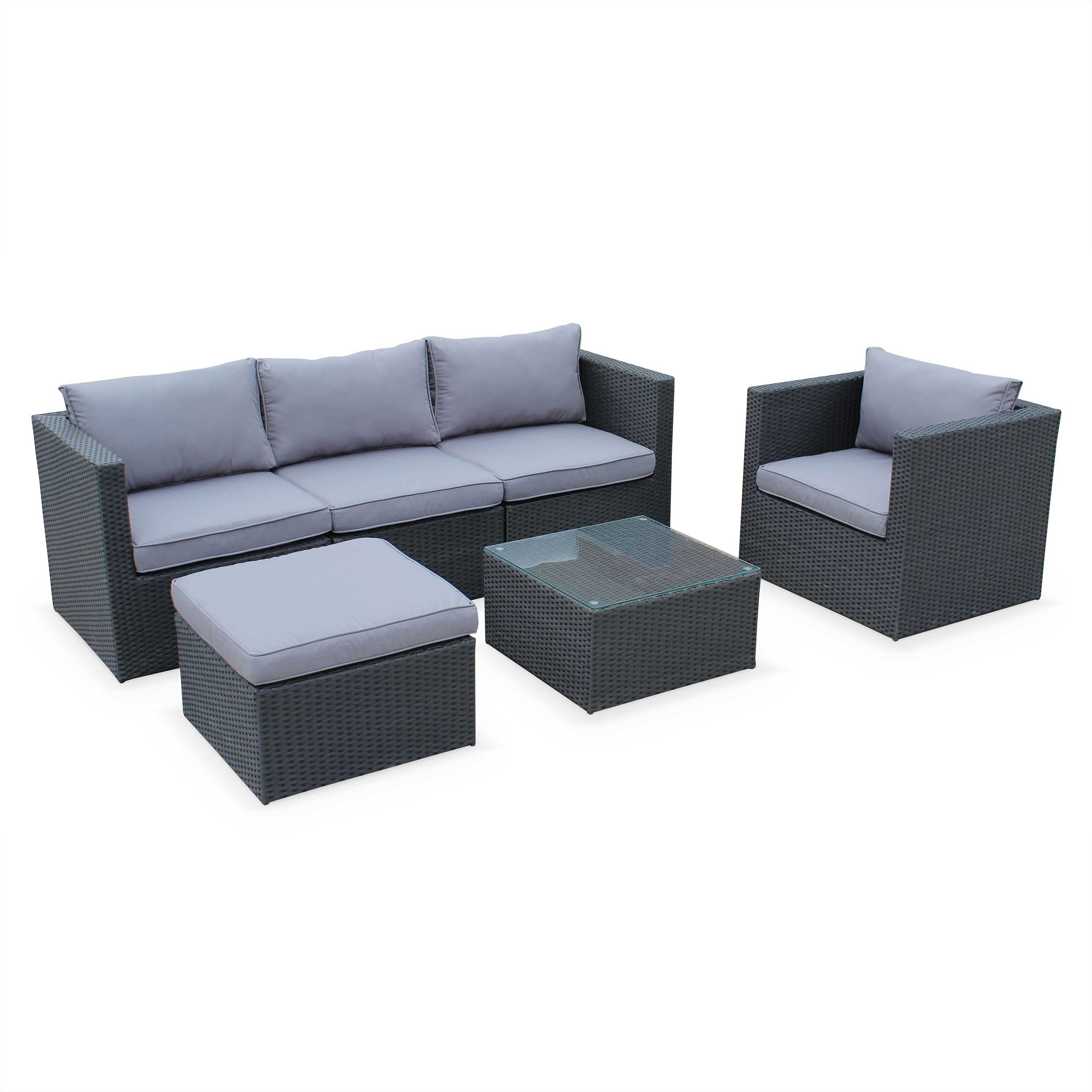 salon de jardin 5 places pas cher royal sofa id e de canap et meuble maison. Black Bedroom Furniture Sets. Home Design Ideas