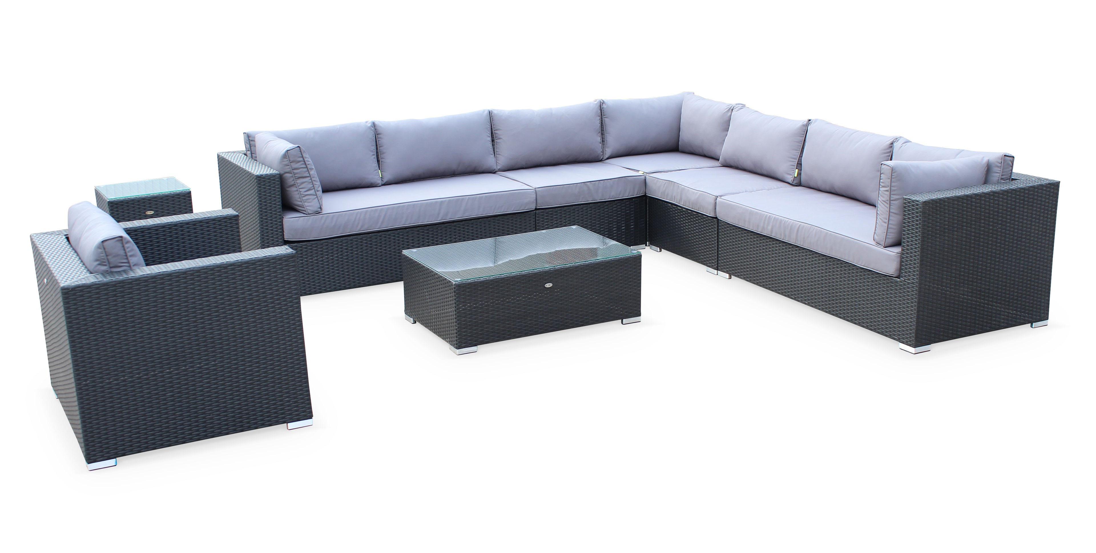 Salon De Jardin 10 Personnes Resine Royal Sofa