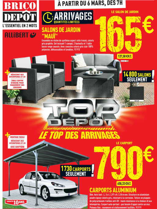 Salon de jardin a brico depot - Royal Sofa