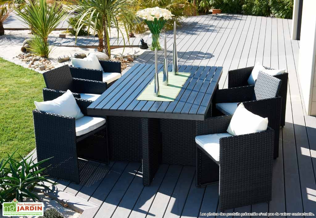 Salon De Jardin En Resine Allibert. Simple Salon De Jardin Alibert ...