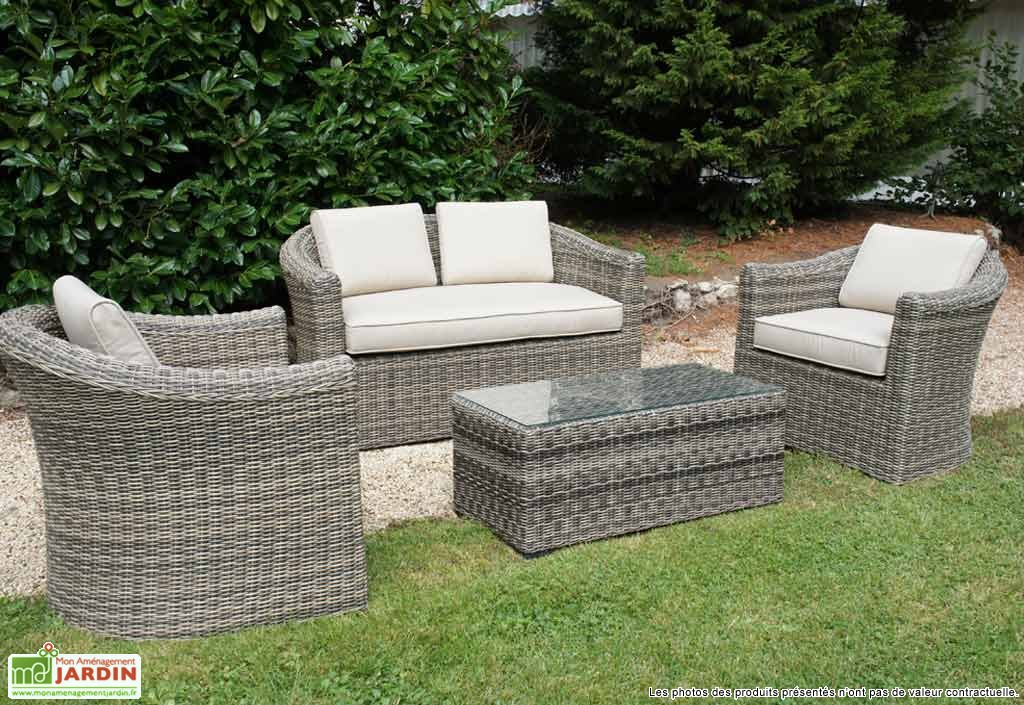 Awesome salon de jardin resine ou bois gallery home design ideas - Table jardin hartman nanterre ...