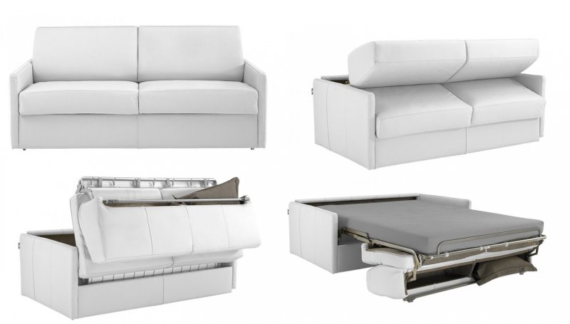 Canap convertible rapido cuir royal sofa id e de for Bon canape convertible quotidien