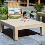 Table salon de jardin bois