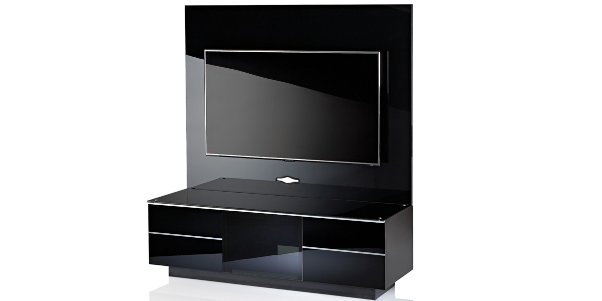 meuble tv 55 pouces royal sofa id e de canap et. Black Bedroom Furniture Sets. Home Design Ideas
