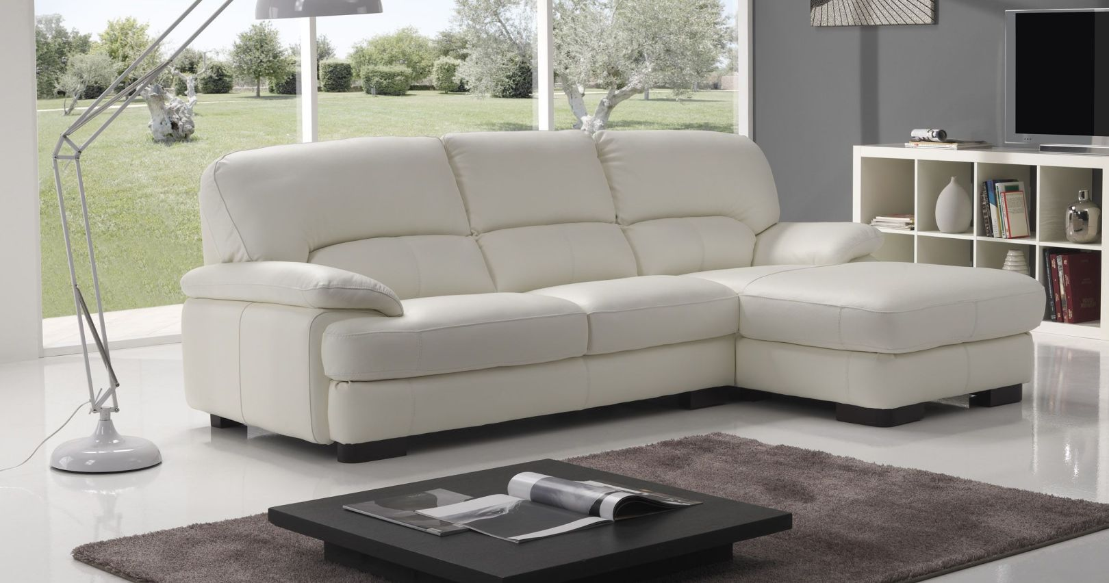 Canape angle cuir royal sofa id e de canap et meuble for Meuble de canape